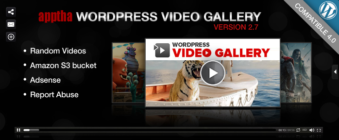 Wordpress Video Gallery 2.7