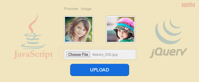 Image Upload using Jquery