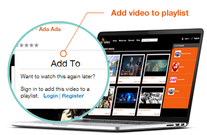Add Video Playlist