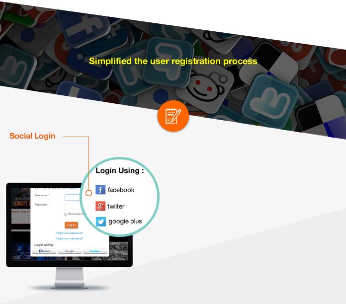 Social Login Registration