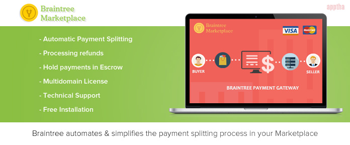 Braintree Marketplace Payment Gateway