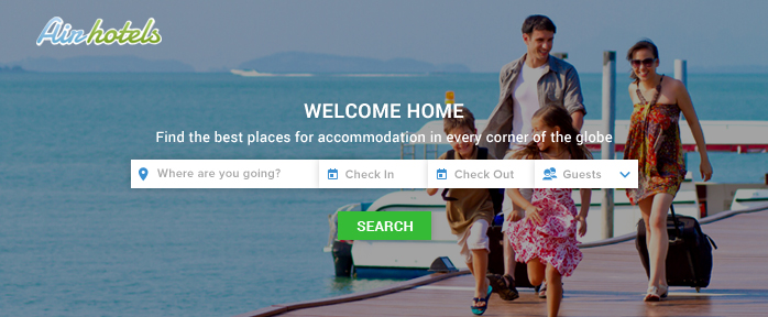 Create Airbnb like Website
