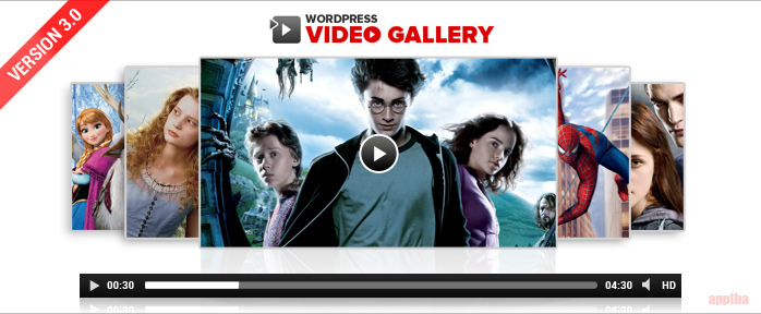 Wordpress-Video-Gallery-3.0