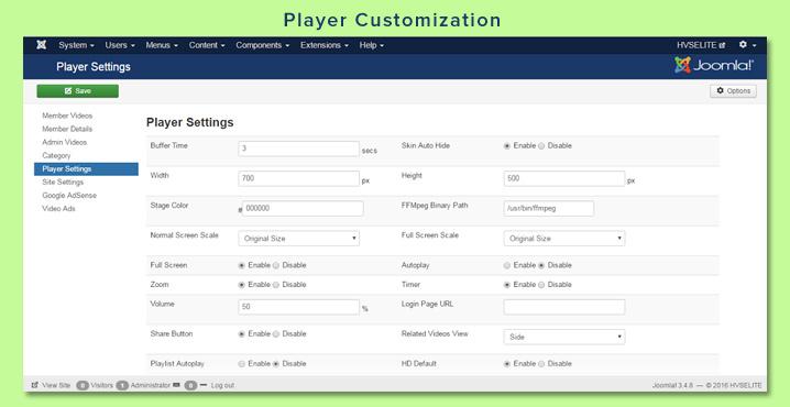 Player Customization