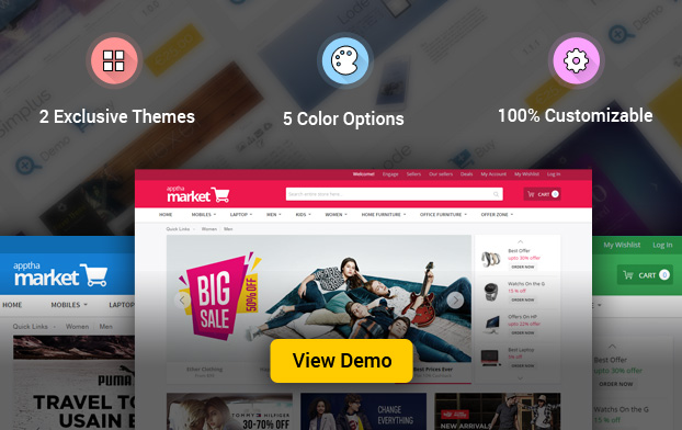 Apptha Marketplace Theme