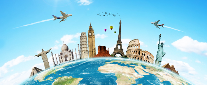 Online Travel Booking Industry Infogrpahic