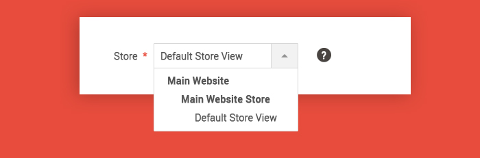 Default Store View