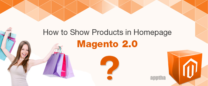 Home Page Product Display in Magento 2