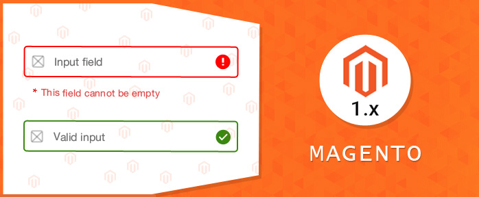 Validate input fields without form in magento