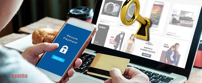 online shopping website security