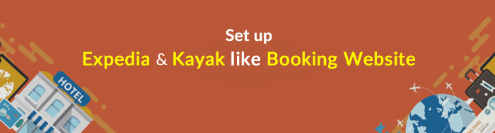 setup kayak, expedia website