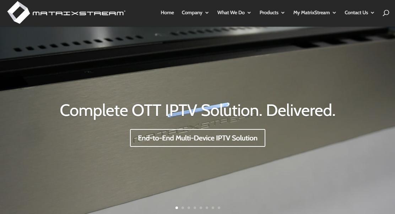 Matrixstream IPTV Platform