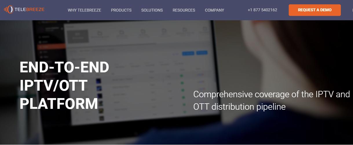 Telebreeze IPTV Platform Provider