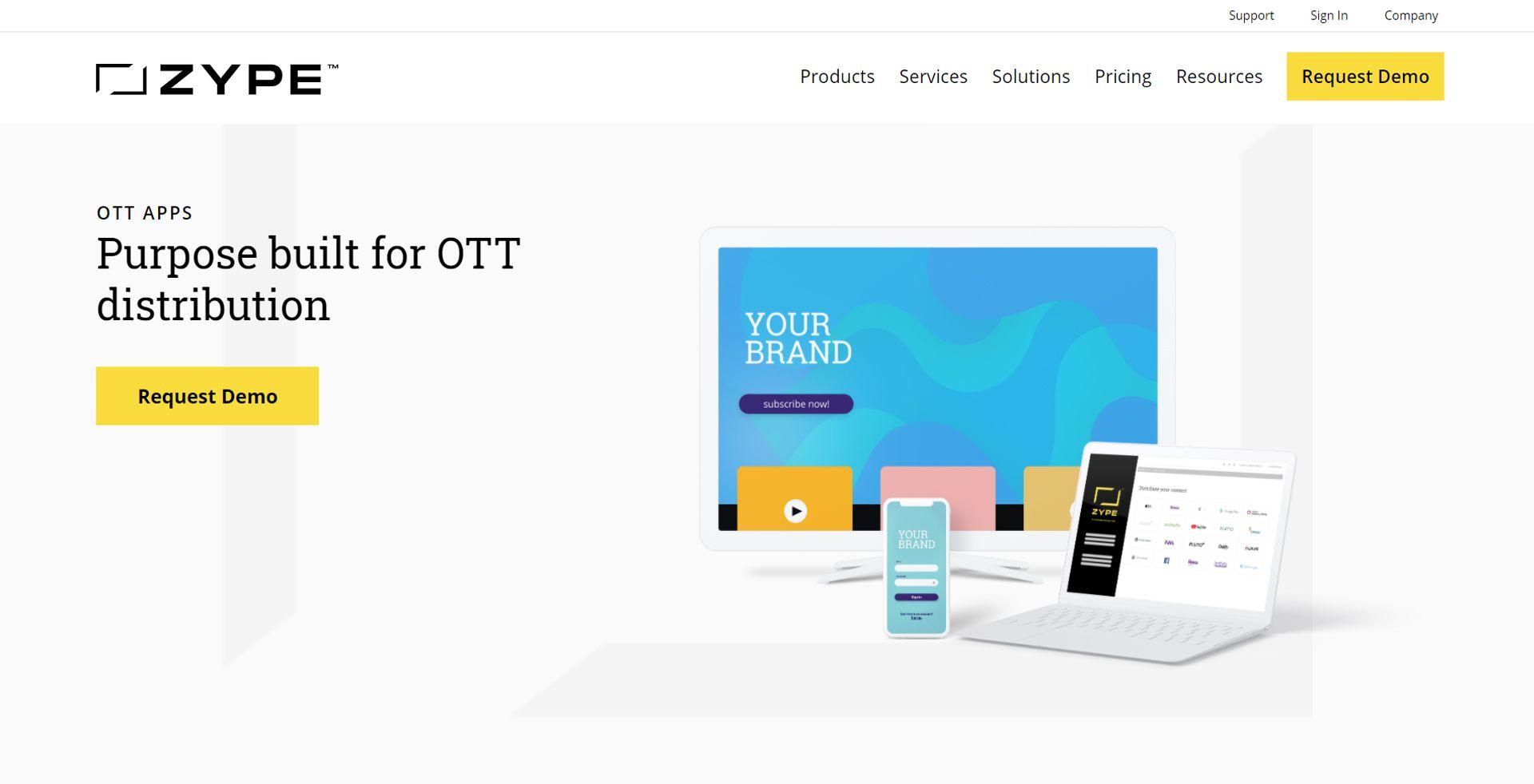 zype OTT platform